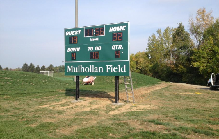 Wright State University Football Scoreboard