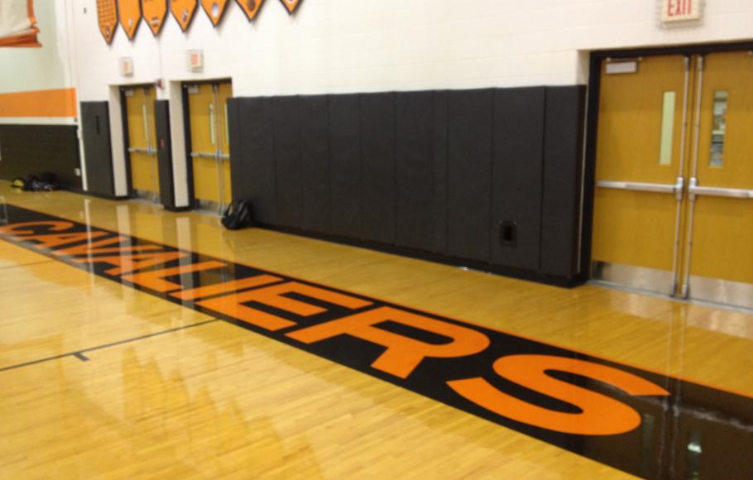 Coldwater High School Wall Padding