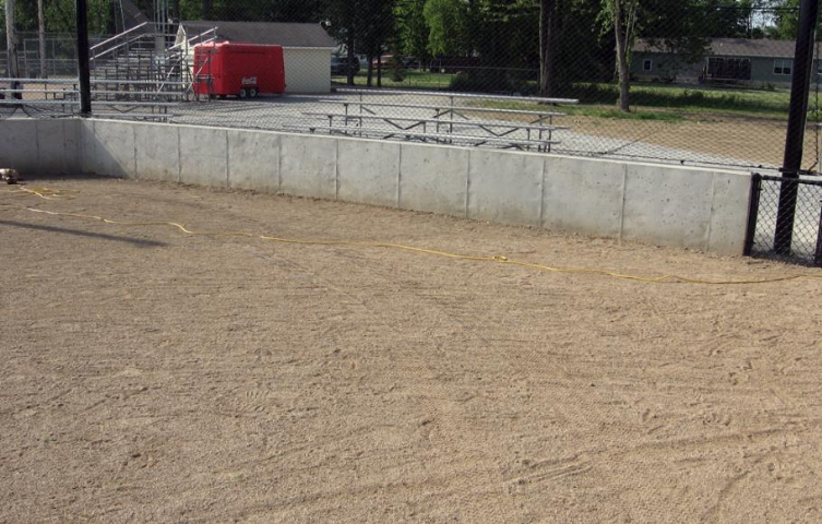 Findlay High School Baseball Backstop Padding