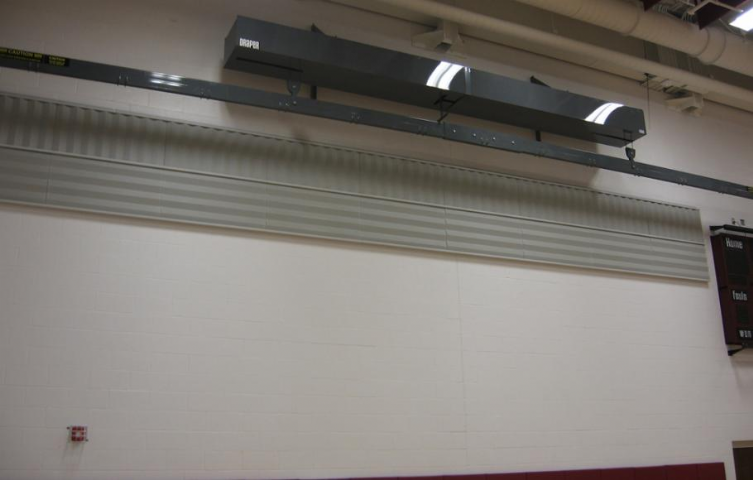 Linden McKinley High School Wresting Mat Hoist