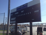 Ft. Recovery High School Baseball Scoreboard